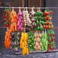 corn stick sweet potato tomato cucumber eggplant mushroom garlic beans green pepper fake artificial fruits vegetables model