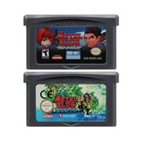 32 Bit Video Game Cartridge Console Card for Nintendo GBA Metal Slug English Language Edition