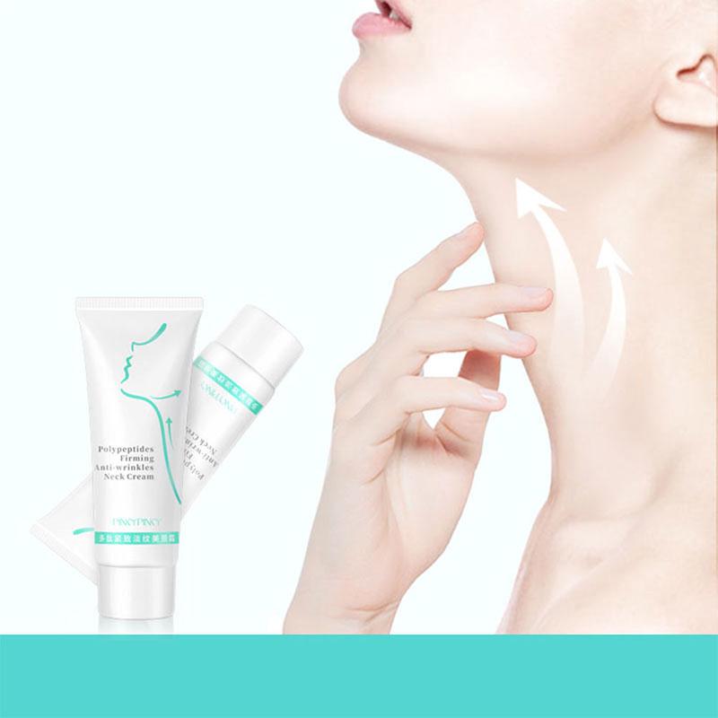 60g Neck Firming Wrinkle Remover Cream Rejuvenation Firming Skin Whitening Moisturizing Shape Beauty