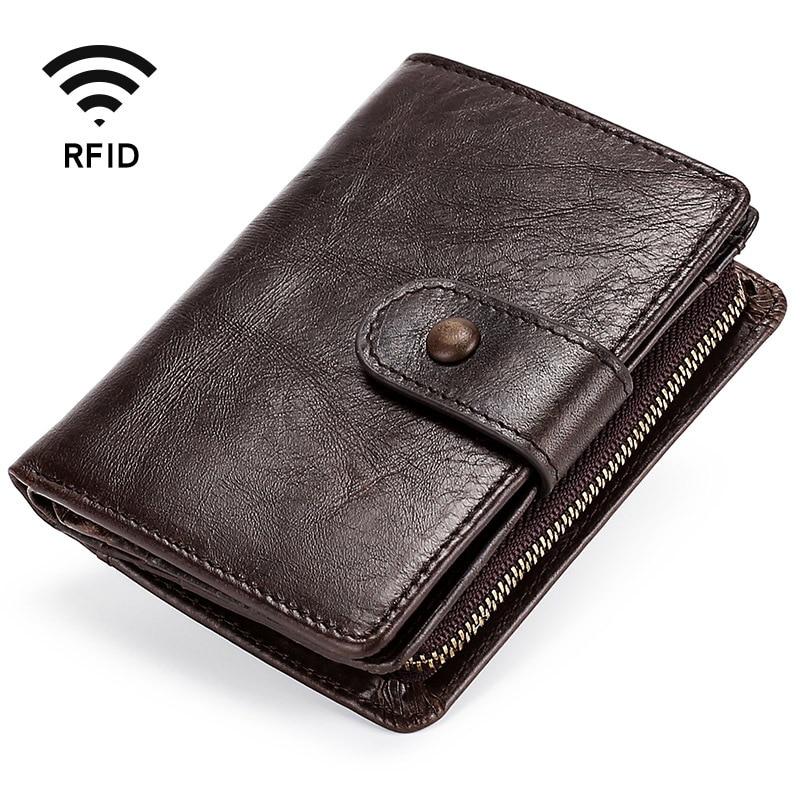 Männer Echte Leder Brieftasche Vintage männer Geldbörse Karten Halter Weiche Leder Münze Geldbörsen Kurzen Dollar Preis Männlichen Geldbörse
