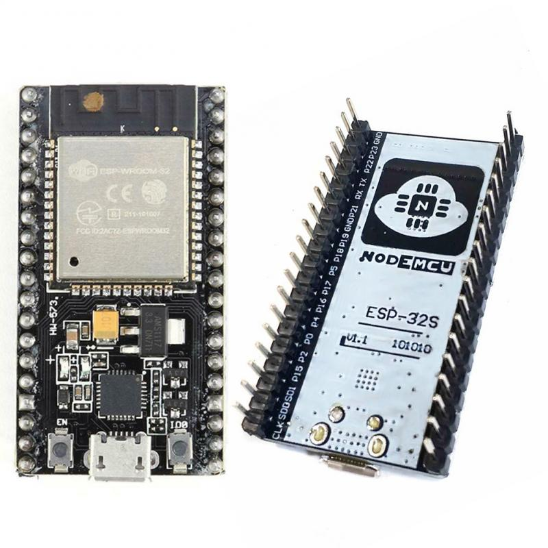 ESP32 Development Board WIFI + Bluetooth IoT Smart Home NodeMCU-32S 2 ESP-32 ESP-32S Wireless WiFi Bluetooth Module Base