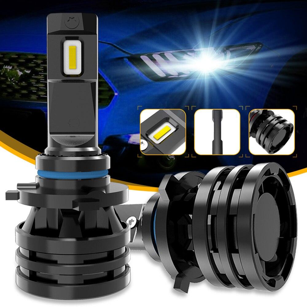 M2 Auto Lichter H7 16000LM H11 LED Lampe Auto Scheinwerfer Lampen H4 H1 H3 H8 H9 9005 9006 HB3 HB4 9012 H13 9007 Turbo Led-lampen 12V 24V