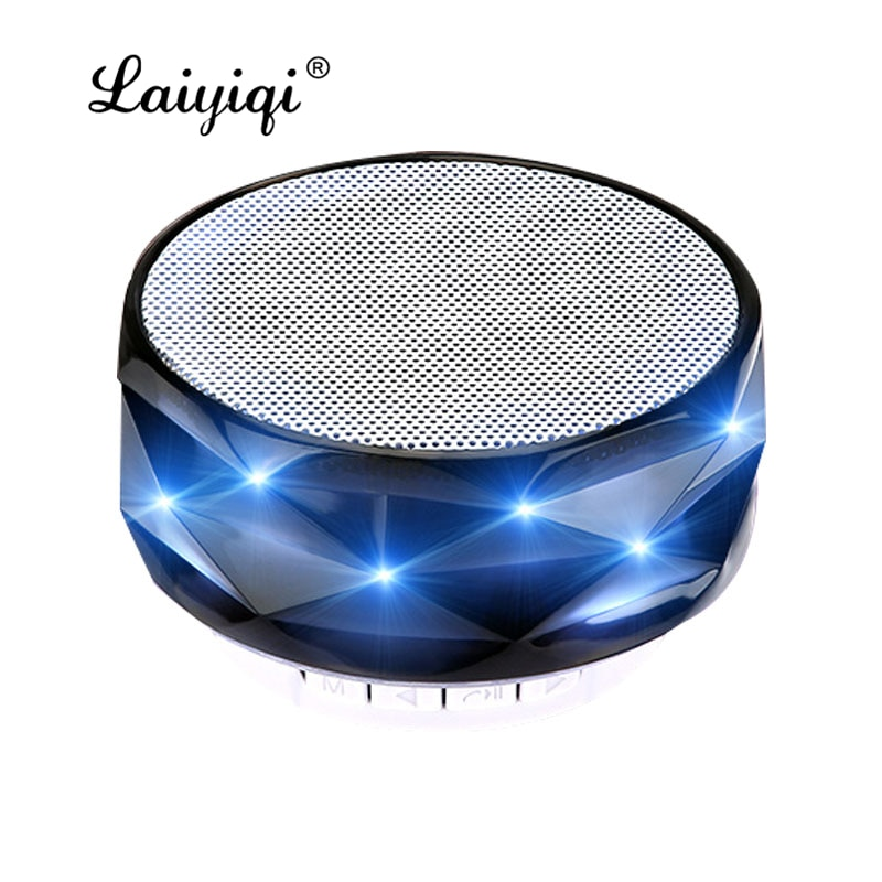 Laiyiqi Cristal Diamantes diseño bluetooth altavoz portátil luz de noche luz colorida...