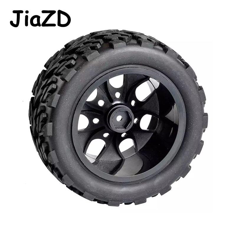 4pcs/set HSP 1/10 Monster Truck 88030 Tire Bigfoot Tire (4pcs) Diameter 115mm Hexagon combined with 12mm HSP 94111 94108 94188 enlarge