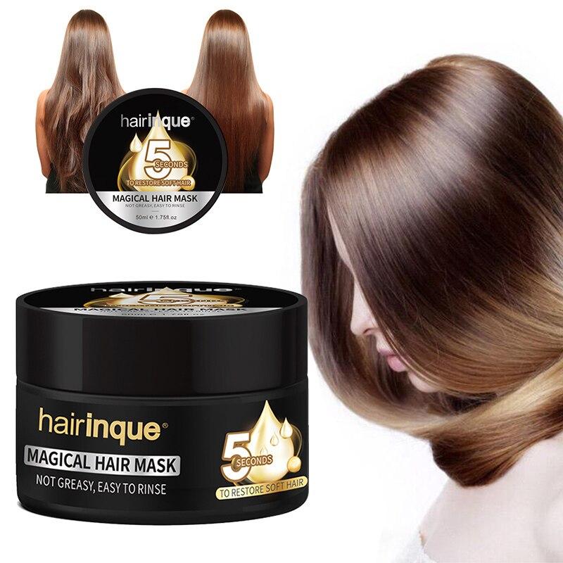 5 segundos reparos danos cabelo restaurar hidratante nutritivo mágico cabelo & tratamento do couro cabeludo máscara de cabelo 50ml tslm2
