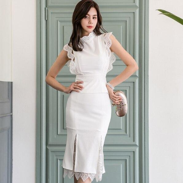 Nueva llegada de 2019 chaquetas a cuadros rayadas para mujer traje elegante para oficina OL ropa de trabajo coreana Rosa pantalón trajes Blazers HJ460