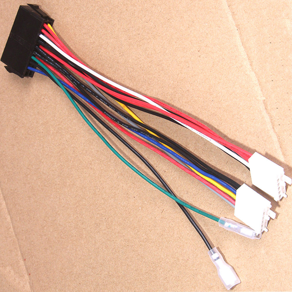 atx 24pin to 2 port 6pin adapter cable for hp z220 z230 sff server workstation motherboard psu power supply converter cord 30cm Converter Power Cable 20P ATX To 2 Port 6 Pin AT PSU Converter Power Cable For Computer 286 386 486 586 Converter Power Cable