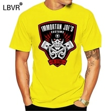 Unisex Fit Immortan Joe S Customs Mad Max Fury Roa T Shirt Designing Comical Sunlight Trend Standard Short Sleeve Over Size 5xl