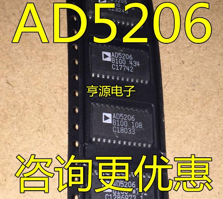 شحن مجاني AD5206 AD5206B AD5206B10 AD5206BRUZ10 10 قطعة