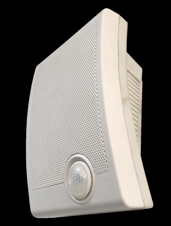 Outdoor rainproof Wall Mount High Power Sensitive PIR Motion Sensor Scream Scary Voice Box for Halloween Props