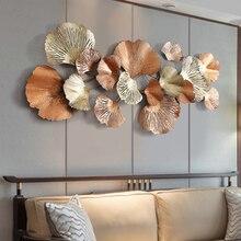 Nieuwste Wanddecoratie Licht Extravagante Een Woonkamer Achtergrond Home Ornament Wall Mounted Opknoping Metalen Tuin Decors