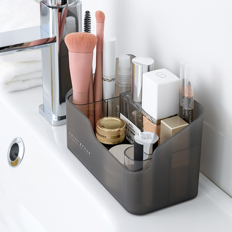 Multi-functional Make Up Cosmetics Organizer Storage Box Skin Care Products Remote Control Cosmetics