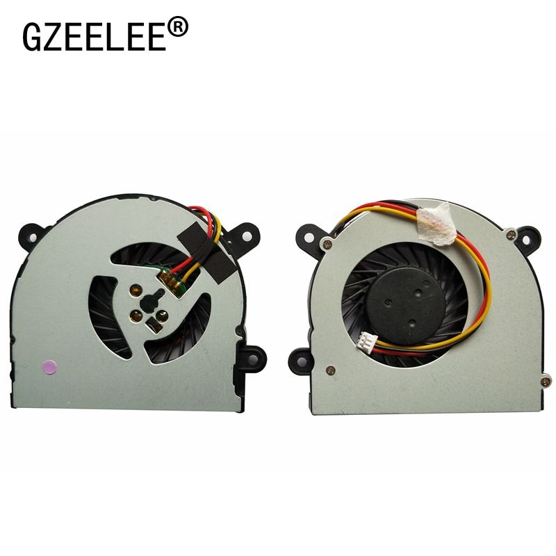 Nuevo ventilador enfriador de CPU para portátil para MSI S6000 X600 para CLEVO 7872 C4500 de ADDA AB6505HX-J03 AB6605HX-J03 6-31-W25HS-100 BS5005HS-U89