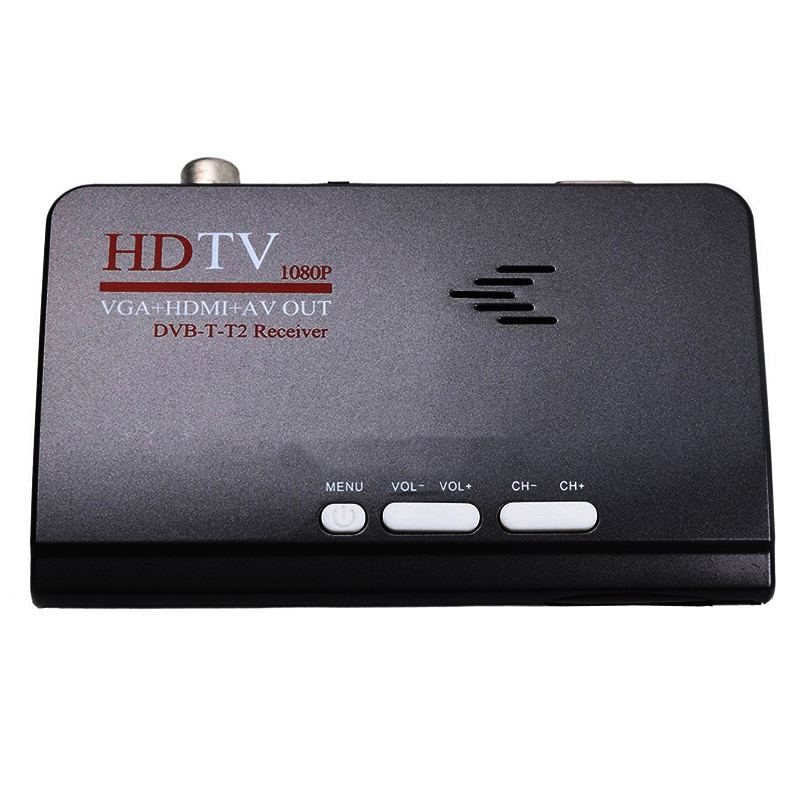 AMS-Smart Tv Box Us Plug 1080P Hd Dvb-T2/T ТВ-приставка Hdmi Usb Vga Av тюнер ресивер цифровая приставка-Eu вилка