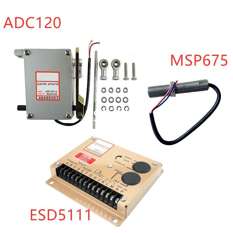 المحرك ADC120-24V ADC120-12V الديزل مولد محافظ كيت 1 قطعة ADC120 ( 12V أو 24V ) + 1 قطعة ESD5111 + 1 قطعة 3034572