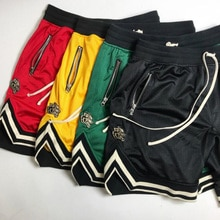 Sommer dünne abschnitt mesh shorts männer lauf basketball-training atmungsaktiv fitness fünf punkte hosen männer der turnhallen fitness shorts