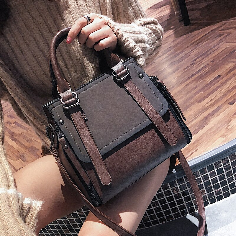 Women's Handbags Fashion Shoulder Bags Top-handle Bucket Ladies High Capacity Zipper Large Casual Crossbody Bags Female Totes
