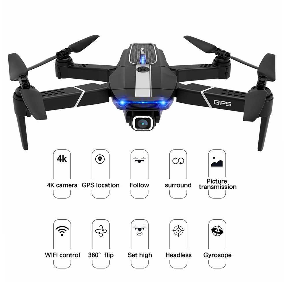 Fema E525 E525s Rc Drone Gps śledź Mnie Z 4k 1080p 5g Wifi Fpv Hd Szerokokątny Aparat Składany Mini Dron Quadcopter E520s Sg907 Rc Quadcopter Aliexpress