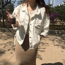Miss Don't 2020 Spring and Autumn New Korean Style Women's Clothing Student Single-Breasted Fashion