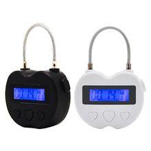 Time Lock Fetish Handcuffs Mouth Gag Electronic Timer Bdsm Bondage Restraints