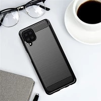 for samsung galaxy a12 5g case rubber silicone carbon fiber cover for samsung galaxy a12 5g phone case for samsung a12 5g case