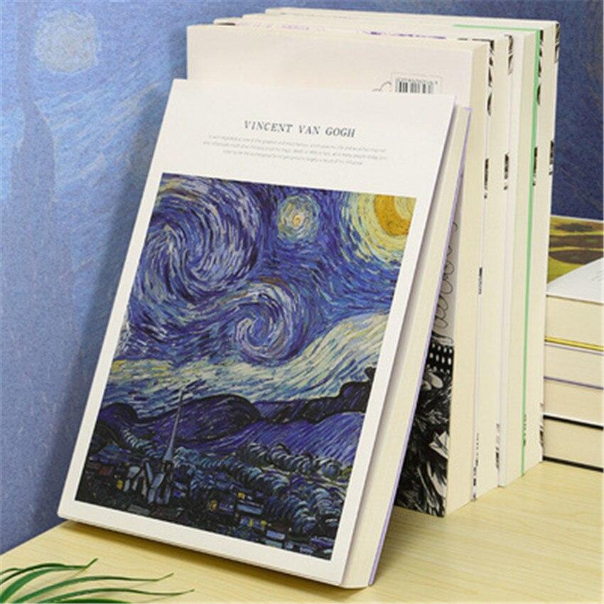 1pc 16k desenho do estudante sketchbook arte aquarela livro criativo crianças pintura graffiti livro de arte esboços de papel 185*260mm