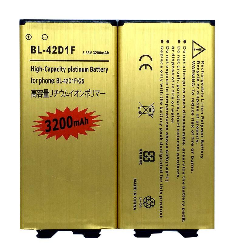 BL-42D1F Аккумулятор для LG G5 VS987 US992 H820 H850 H868 H860 H860N F700K H830 LS992 аккумулятор для телефона LG
