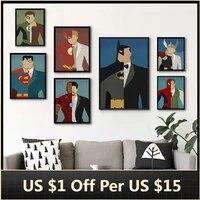 Affiches de peinture sur toile  personnages de films populaires celebres  tableau dart mural pour decoration de salon  decoration de maison