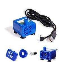 Pompe à eau pour animal domestique, moteur de fontaine pour chat et fleurs, distributeur deau de remplacement, bol de boisson lumière LED