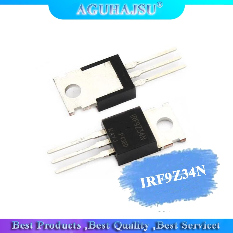 10 Uds IRF9Z34N IRF9Z34-220 TO220 IRF9Z34NPBF MOS FET transistor nuevo original
