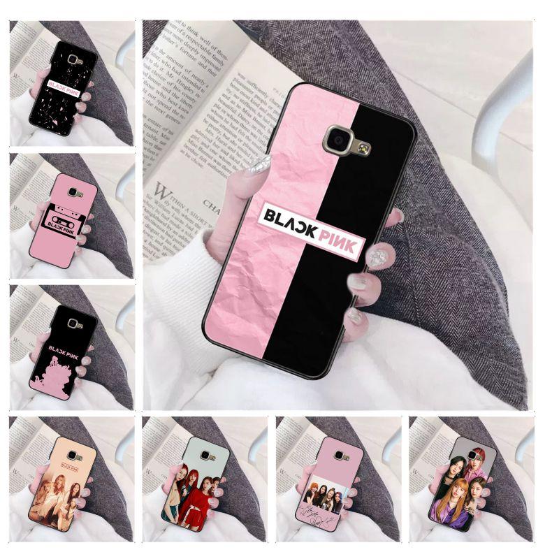 BLACK PINK BLACKPINK kpop Black Soft Shell Phone Cover for Samsung a3 a5 a6 a9 a7 a8 a10 a20 a40 a70 case