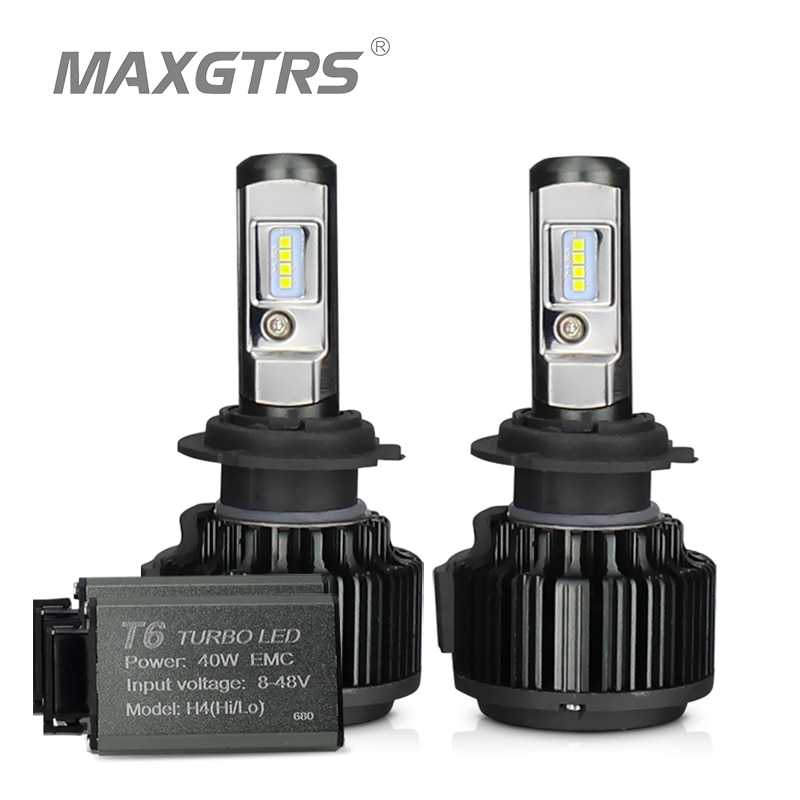 MAXGTRS H4 Hi/lo H7 H8 H11 9006 Car LED Headlights 9005 HB3 HB4 H1 H13 880 881 High Power Canbus Whi