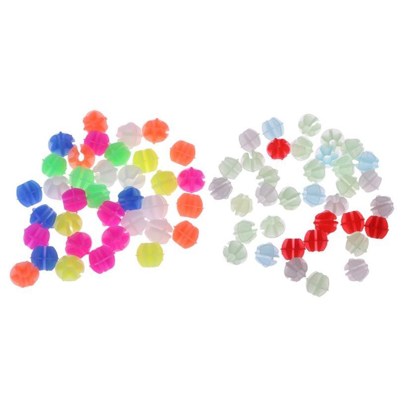 1 sac lumineux roue de vélo a parlé perles en plastique coloré enveloppement Tubes décor vtt montagne route vélo a parlé cyclisme pièces