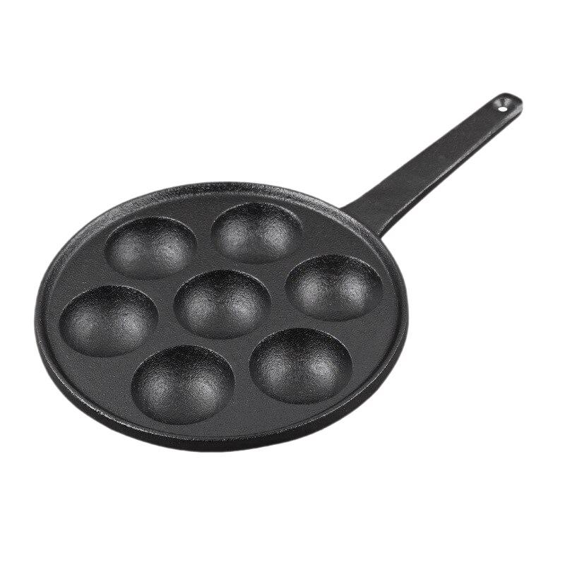 مقلاة فطائر محشوة غير لاصقة, وعاء مصنوع من الحديد الزهر لمختلف الطعام كروية ، قوالب بقطر 2 بوصة
