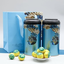 2020 China Xinhuixiaoqinggan Raw Sun Green Skin Small Green Mandarin Authentic Palace Puer Tea for Clear Heat  Canned