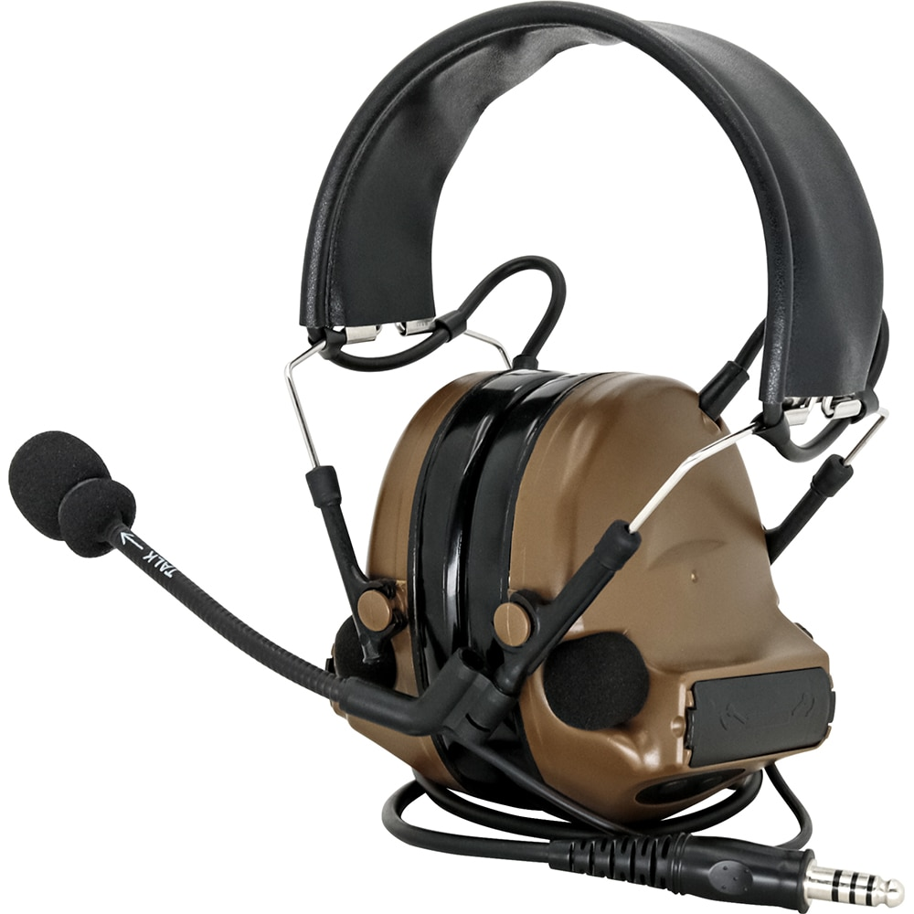 HEARING TACTICAL COMTAC II Hearing Protection Noise Reduction Pickup Military Airsoft Tactical Headset Hunting Shooting Headphon enlarge