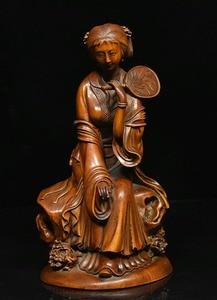 """Свадебные украшения 7 """"китайские народные сборные деревянные резные красивые женские статуя красавицы"""