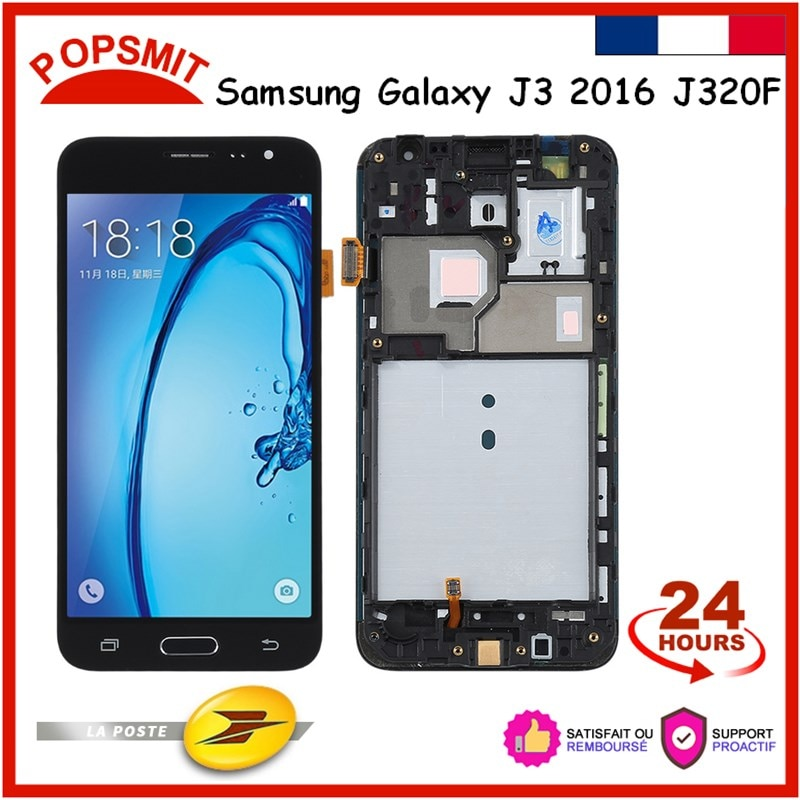 Lcd Display Touch Screen For Samsung Galaxy  J3 2016 J320 With Frame Screen Touch Digitizer Mobile P