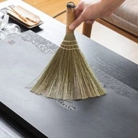 wooden floor broom household bamboo branch small soft hair broom floor cleaning tool manual broom sweeping tool