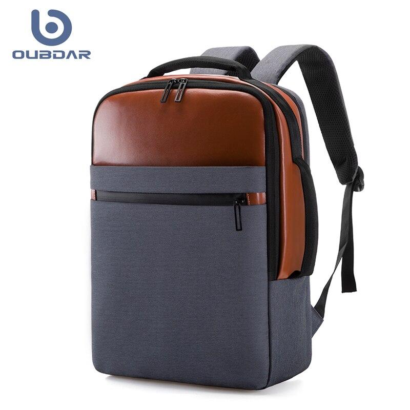 Рюкзак OUBDAR из ткани Оксфорд с защитой от кражи для мужчин и женщин, ранец для ноутбука, модная дорожная сумка, портфель с USB-зарядкой, 2021 | АлиЭкспресс