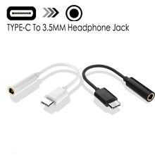 Typ-C Zu 3,5mm Kopfhörer Kabel Adapter Usb 3,1 Typ C USB-C Männlichen Zu 3,5 AUX Audio Weibliche jack für Xiaomi 6 Mi6 Letv 2 Pro 2 Max2