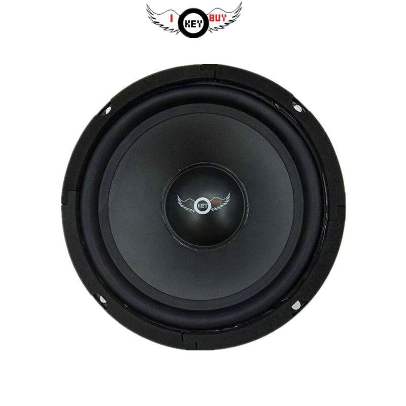 I KEY BUY высококачественный Hifi динамик 6,5 дюймов 300 Вт 8 Ом PP тазик Авто средний диапазон для акустической сцены домашнего кинотеатра громкие ко...