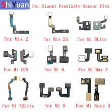 Light Proximity Sensor Flex Cable For Xiaomi Mi 9 9SE 8 8Lite Mix 2S 9SE 6 CC9 Note 3 MAX 3 Distance Sensing Connector