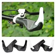 1 paire vélo poignée poignées antidérapant vtt VTT guidon cornes barre extrémités vélo accessoires pièce remplacement mise à niveau