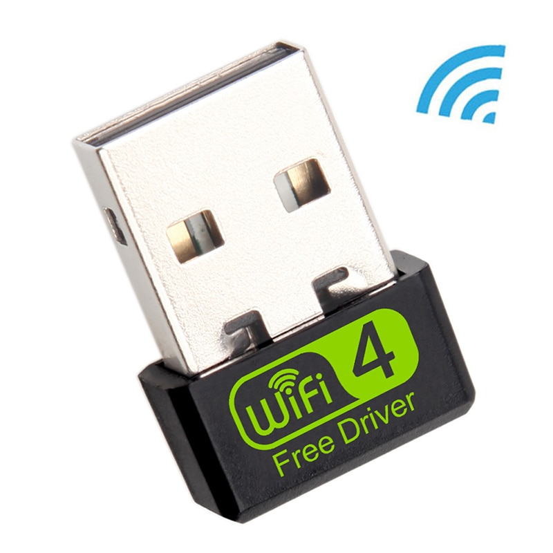 Mini adaptador WiFi USB adaptador Wi-Fi de 150Mbps para PC USB Ethernet WiFi Dongle 2,4G tarjeta de red Antena receptor WiFi
