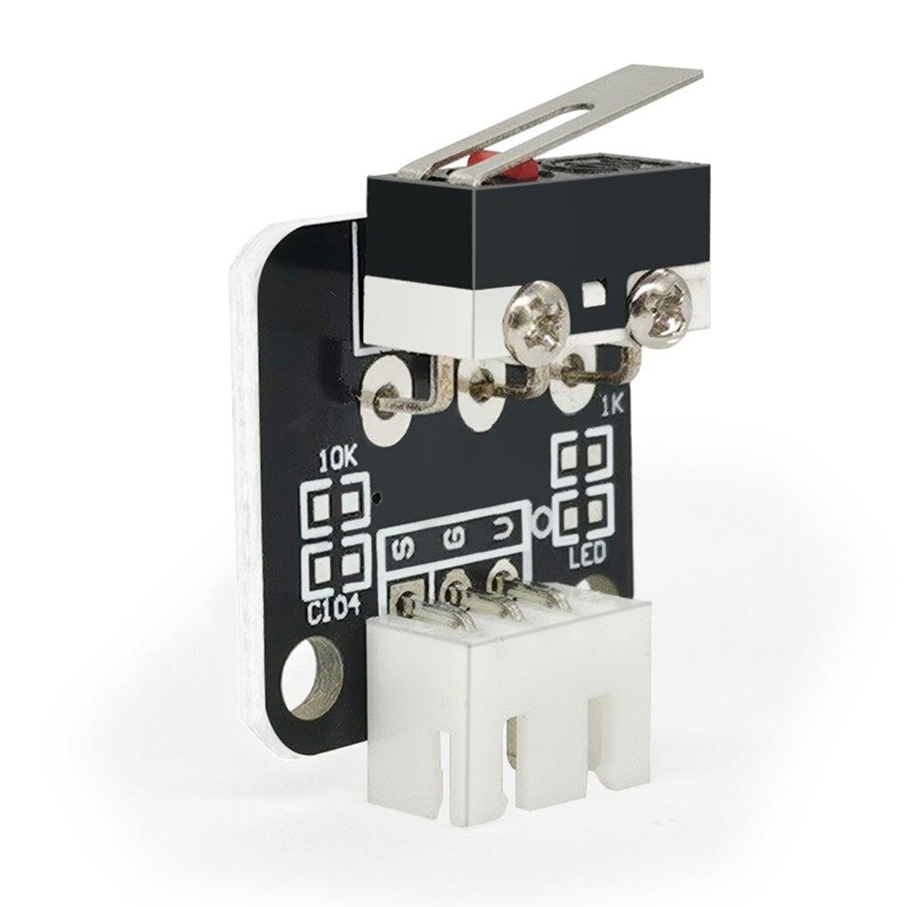 Interruptor de limite da impressora 3d acessórios originais x/y/z interruptor de parada de extremidade da linha central 3pin n/o n/c controle facilmente micro interruptor para CR-10/10s
