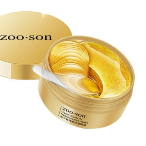 Deep Sea Caviar 24K Gold Moisturizing Eye Mask Remove Dark Circles Anti Age Bag Skin Care Collagen Gel Eye Patches