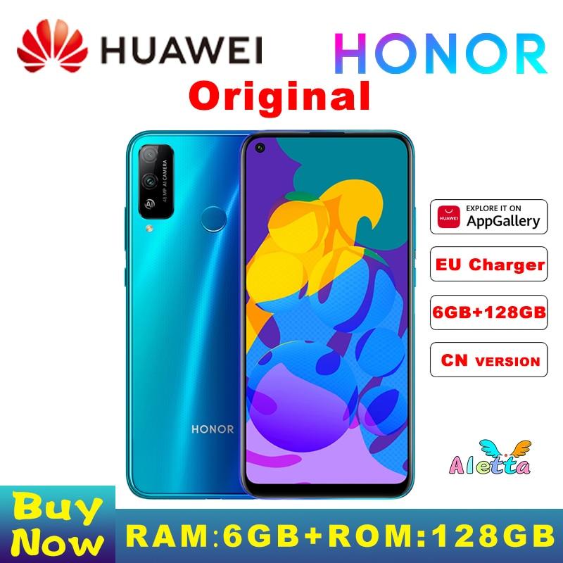 Смартфон Honor PLAY 4T PRO, 6 ГБ ОЗУ 128 Гб ПЗУ, Восьмиядерный процессор Kirin 810, камера 48 МП, встроенный в экран, Распознавание отпечатков пальцев, сотов...