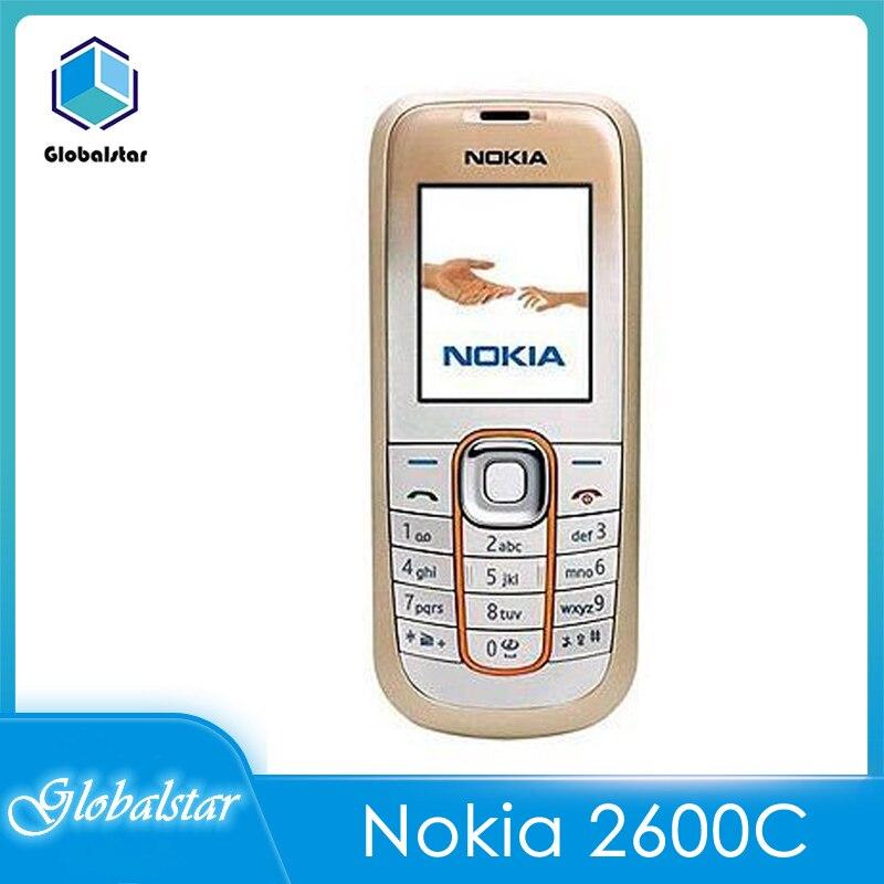 Nokia 2600c 2600 Classic Refurbished Mobile Phones Original Unlocked Cheap Used Celluar Feature
