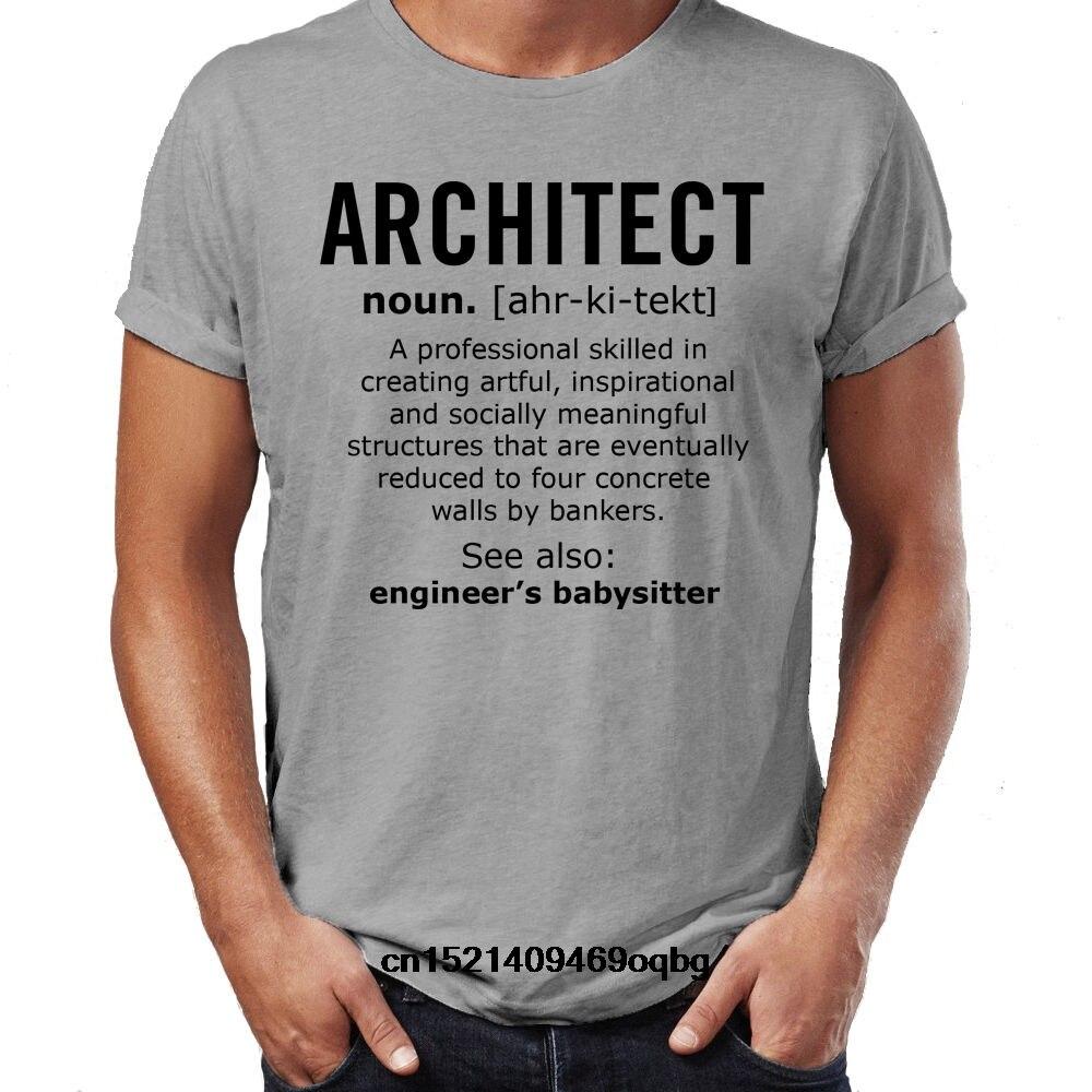 Camiseta divertida para hombre de Architect name, camiseta de regalo de Navidad, nueva camiseta Casual de manga corta, Camiseta estilo de moda